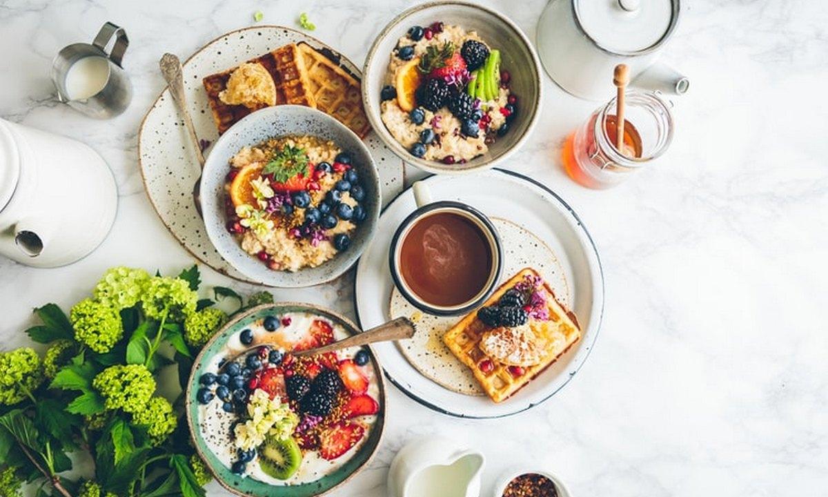 завтрак, блюда, вкусно