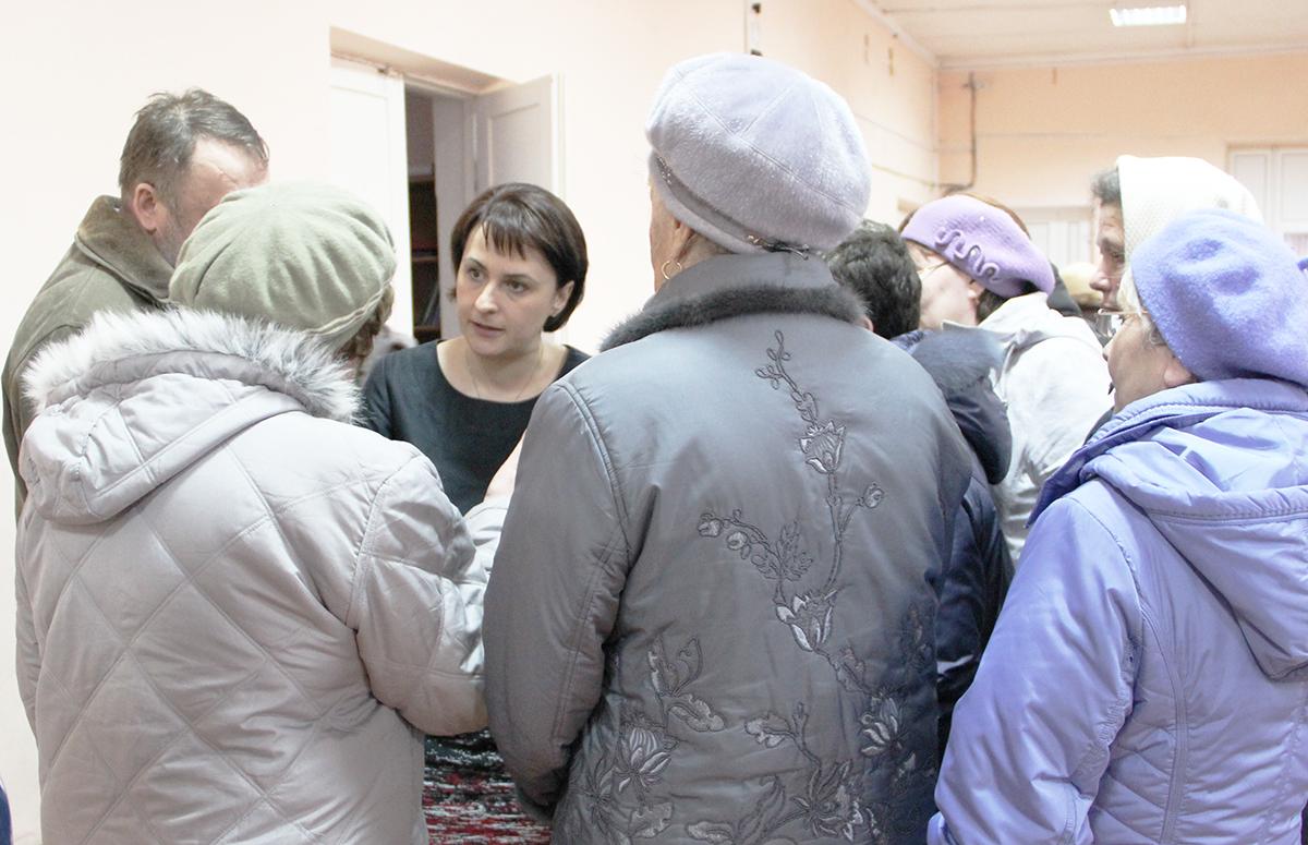 Галина Ширшина и люди