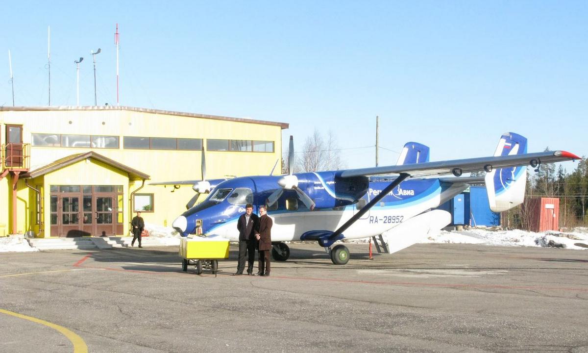 аэропорт Костомукша