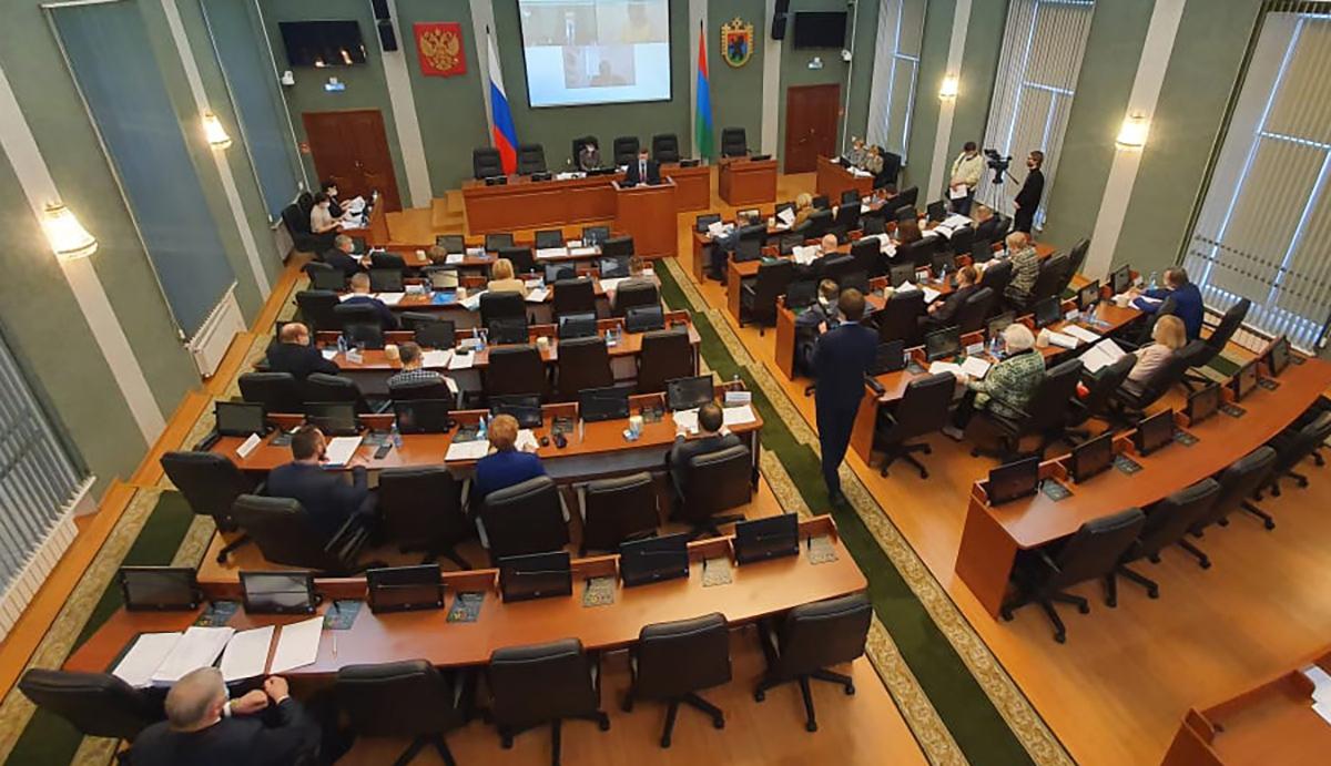 Зал заседаний законодательного собрания