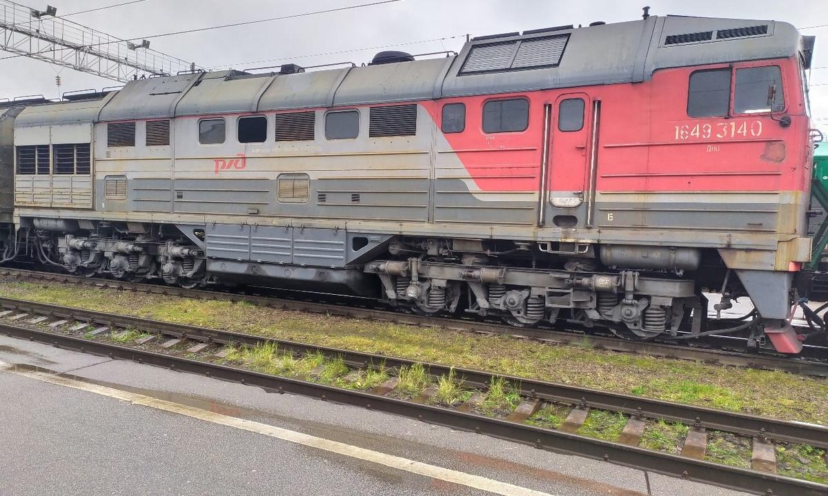 поезд Карелия