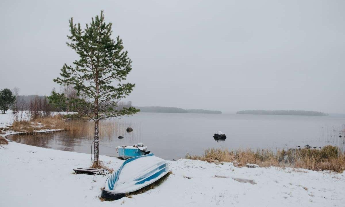 снег Карелия