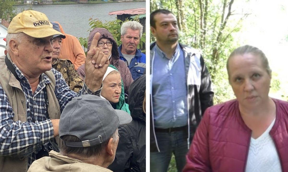 Ватнаволок, жители, протесты