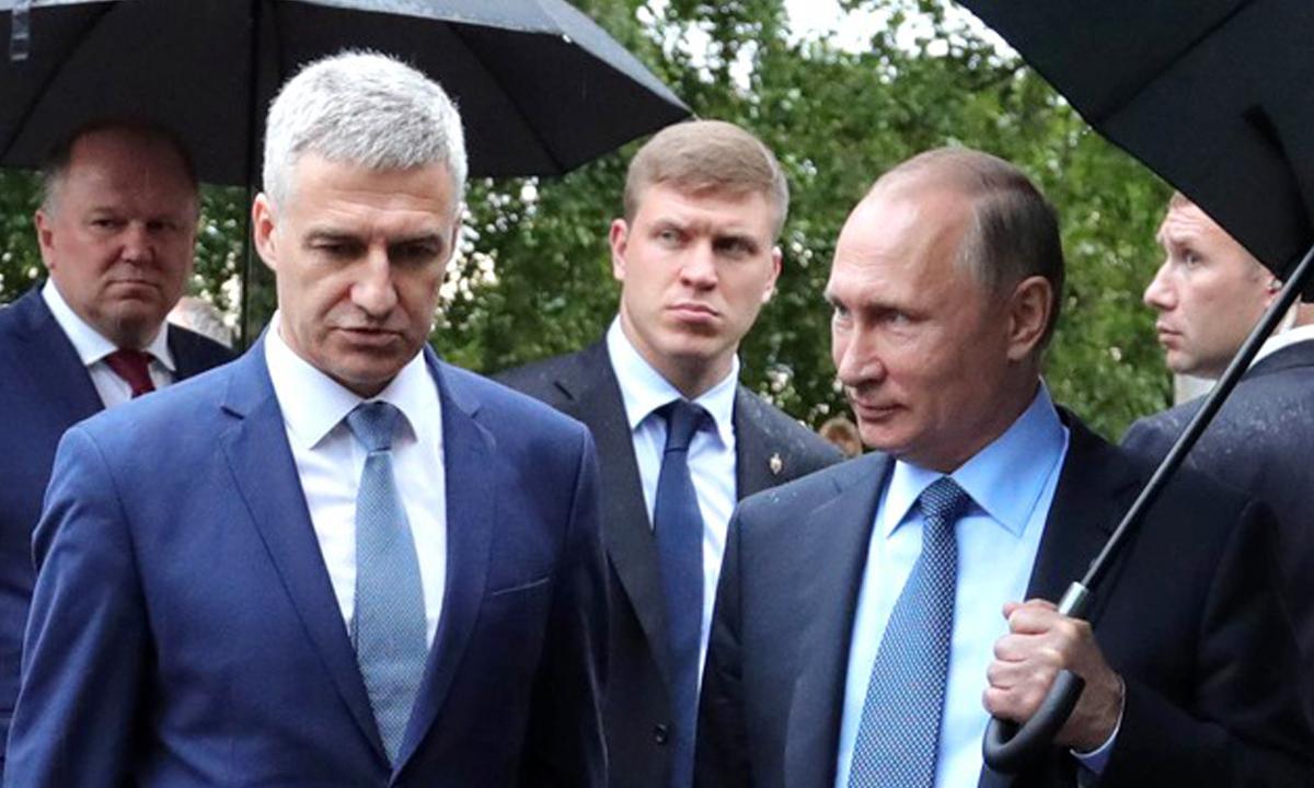 Артур Парфенчиков Владимир Путин