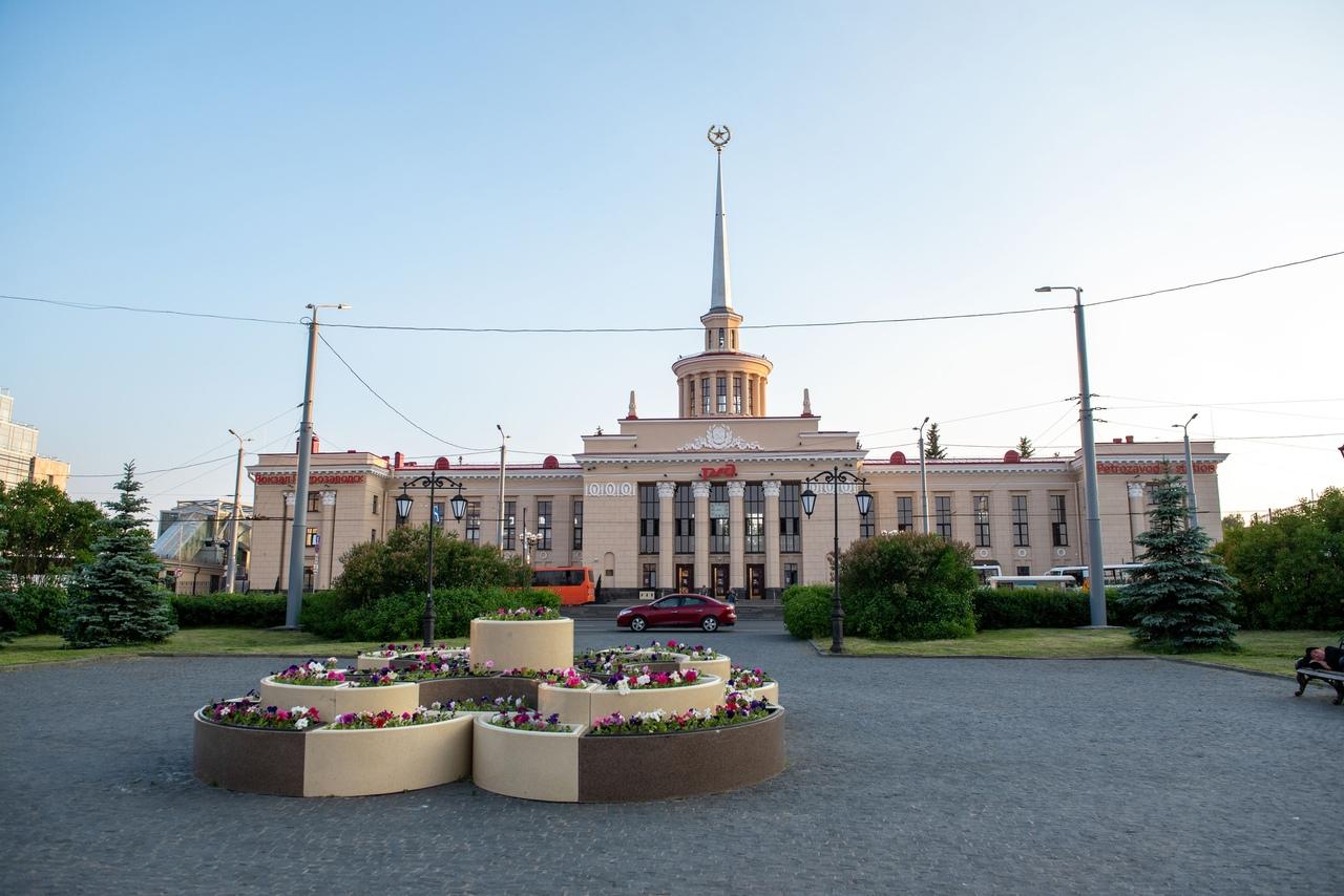 железнодорожный вокзал в петрозаводске