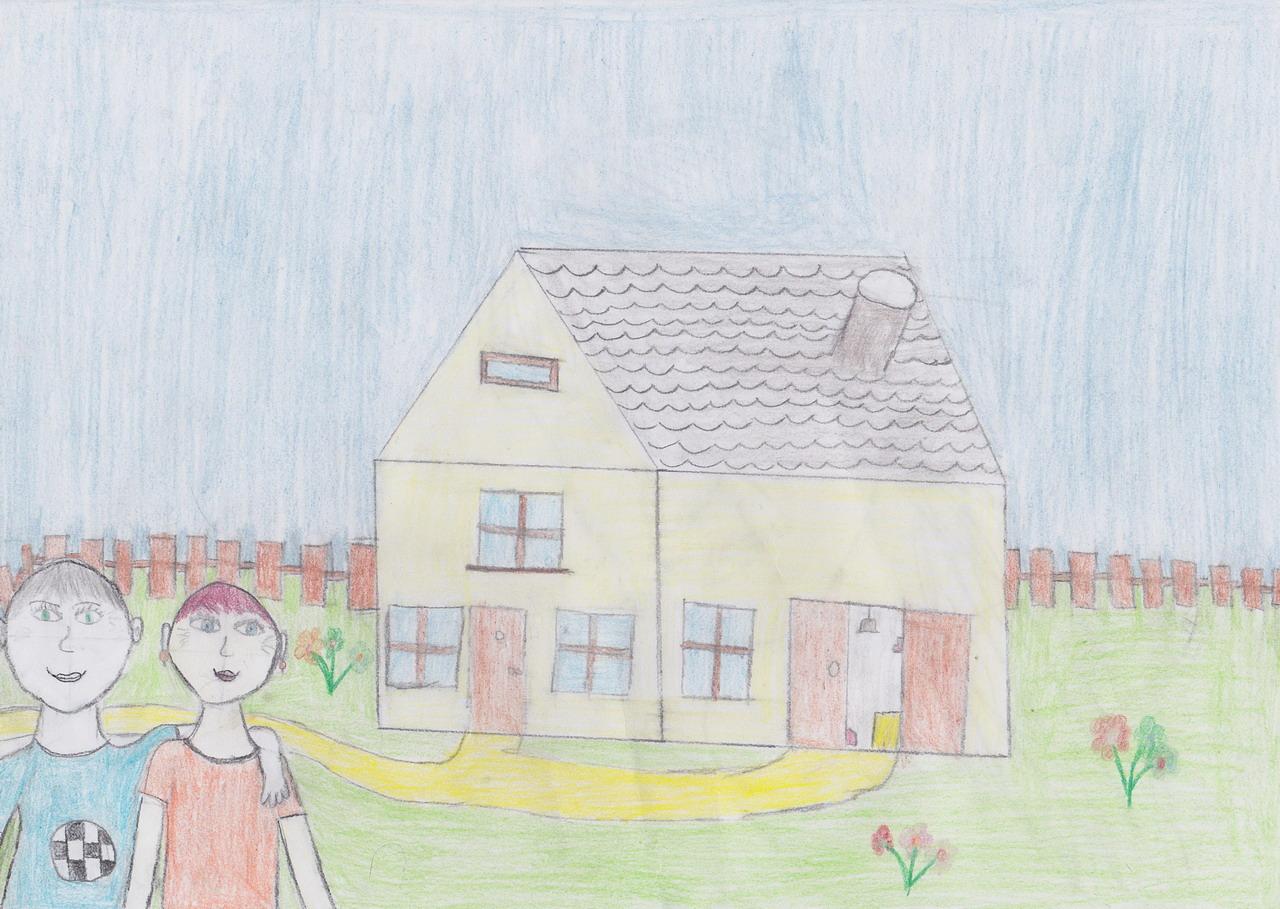 детские рисунки бабушки: